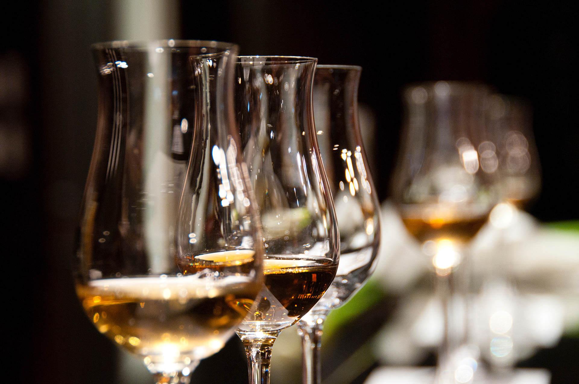 Gin, Rum oder Whisky Tasting