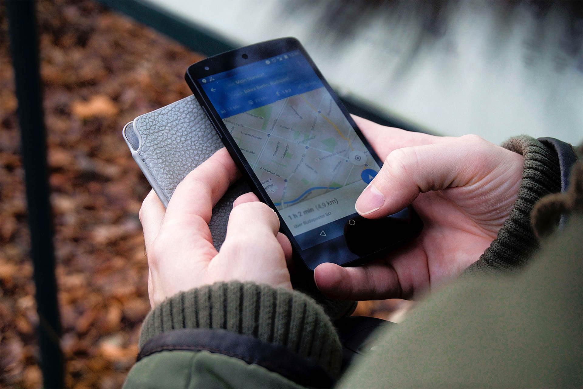 Schatzsuche mit GPS