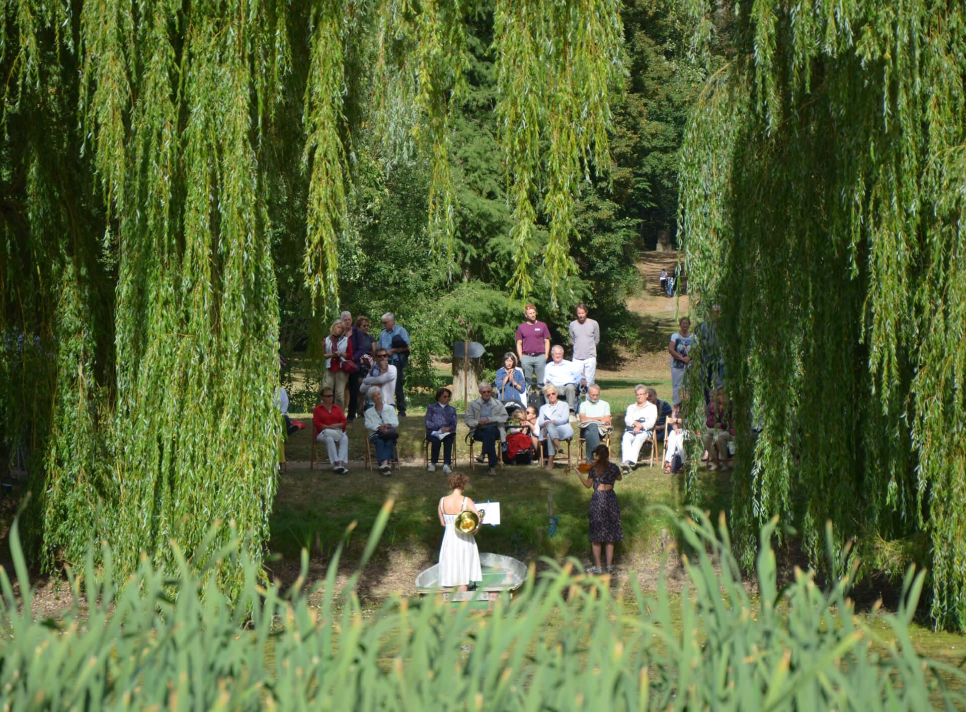 Veranstaltungen im Park von Schloss Liebenberg